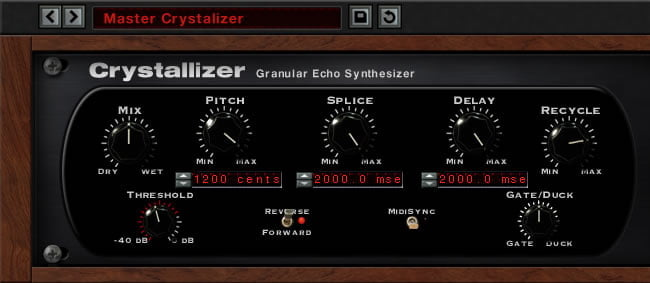 soundtoys crystallizer echo and delay plugin