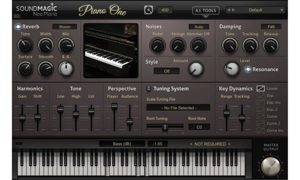 soundmagic piano one piano emulation vsti