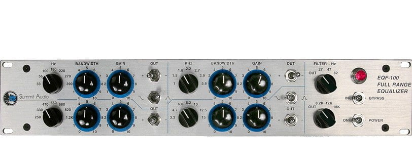 Summit audio EQF-100 EQ plugin