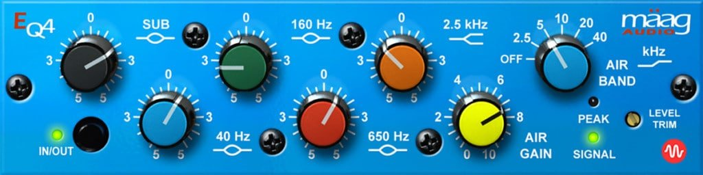 Maag4 EQ plugin