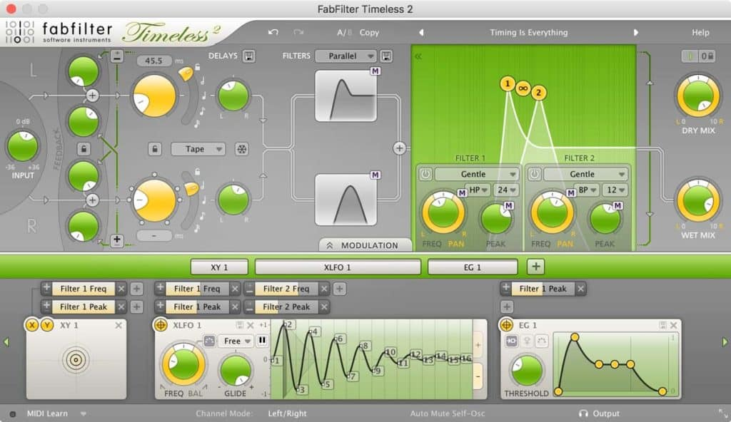 fabfilter timeless 2 delay vst plugin