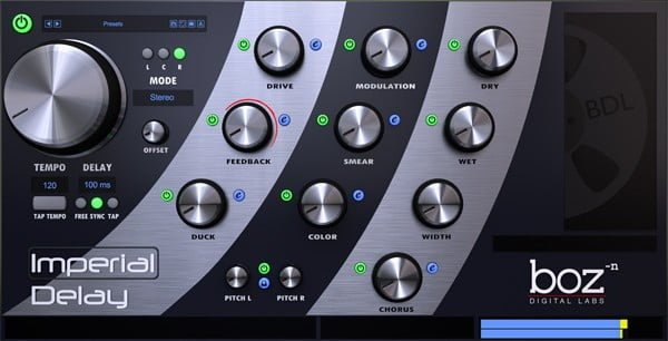 imperial delay plugin