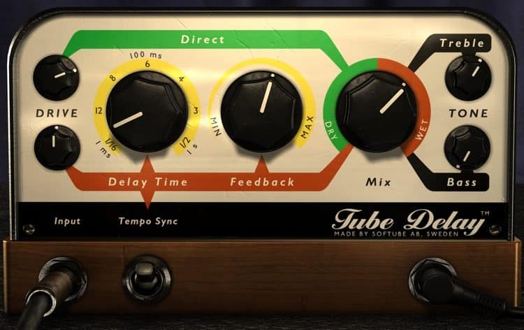 softube tube delay vst plugin