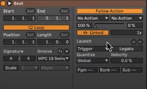 ableton live 11 follow actions
