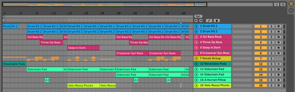 ableton live project file / template